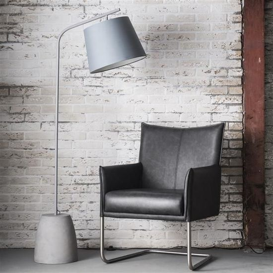 Tall Grey Floor Lamp with Concrete Base Treniq Floor Lamps. View thousands of luxury interior products on www.treniq.com
