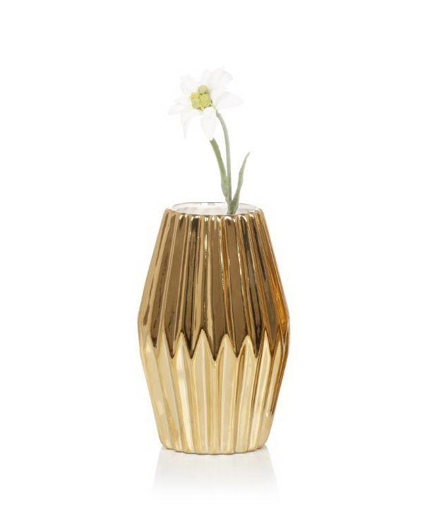Kunstvoll gestaltete Oberfläche im Strukturrelief. #Vase #Deko #Bloomingville #Impressionenversand