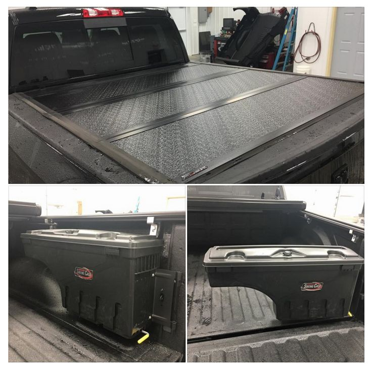 UnderCover Tonneau Covers fix this customer up with some cool goodies from some of the best in the industry!! Undercover Flex and Undercover Swing case toolbox! Installed by Kokomo Truck Store
