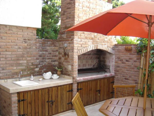 M s de 25 ideas incre bles sobre parrilla de ladrillo en for Diseno de jardineras para patio