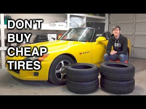 This Is Why Tires Are the Most Important Modification for Your Car