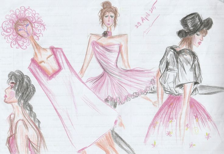Black and pink fashion