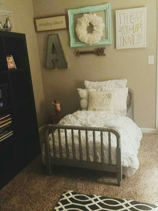 toddler girl room coral mint grey. beautiful ideas. Home Design Ideas