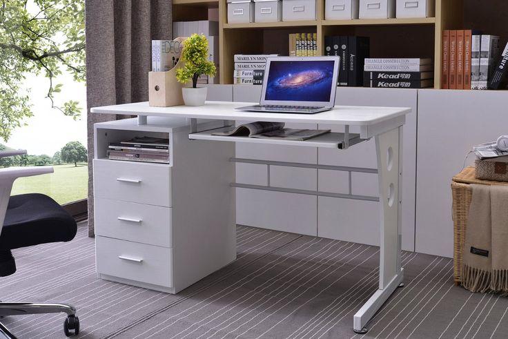 SixBros. Office - Scrivania porta pc tavolo ufficio colore nero - S-352/2072: Amazon.it: Casa e cucina