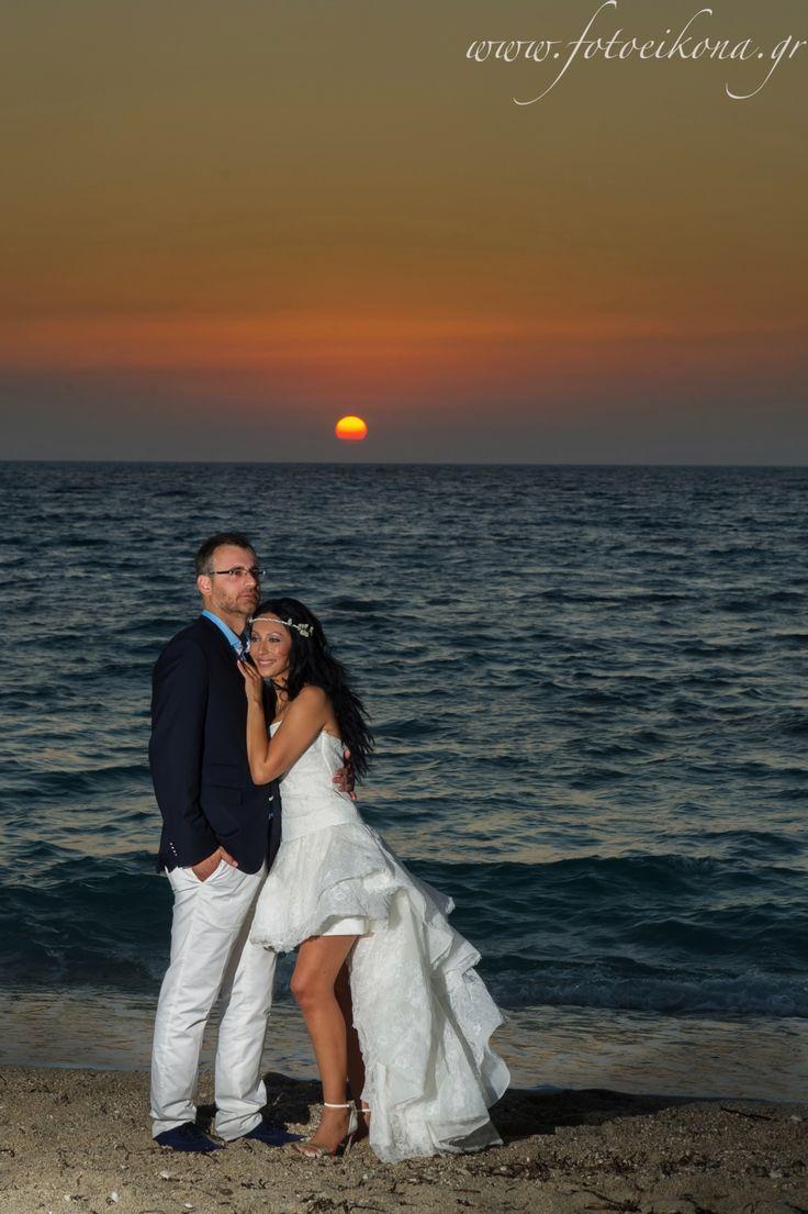 Astonishing wedding day #Lefkas #Ionian #Greece #wedding #weddingdestination #sunset Eikona Lefkada Stavraka Kritikos