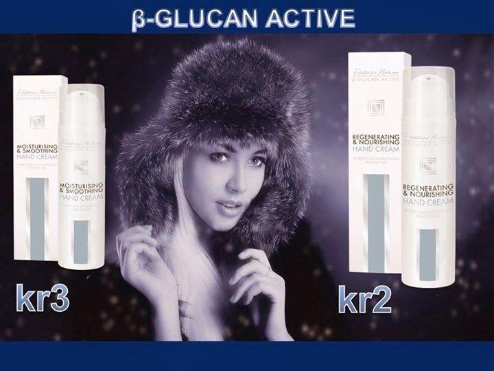 Afacerea FM Group: Cremele pentru maini - Colectia β-GLUCAN ACTIVE