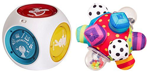 Baby Mozart Magic Cube Musical Toy  Developmental Bumpy Ball for Kids 2 Pack -- Check out this great product.Note:It is affiliate link to Amazon.