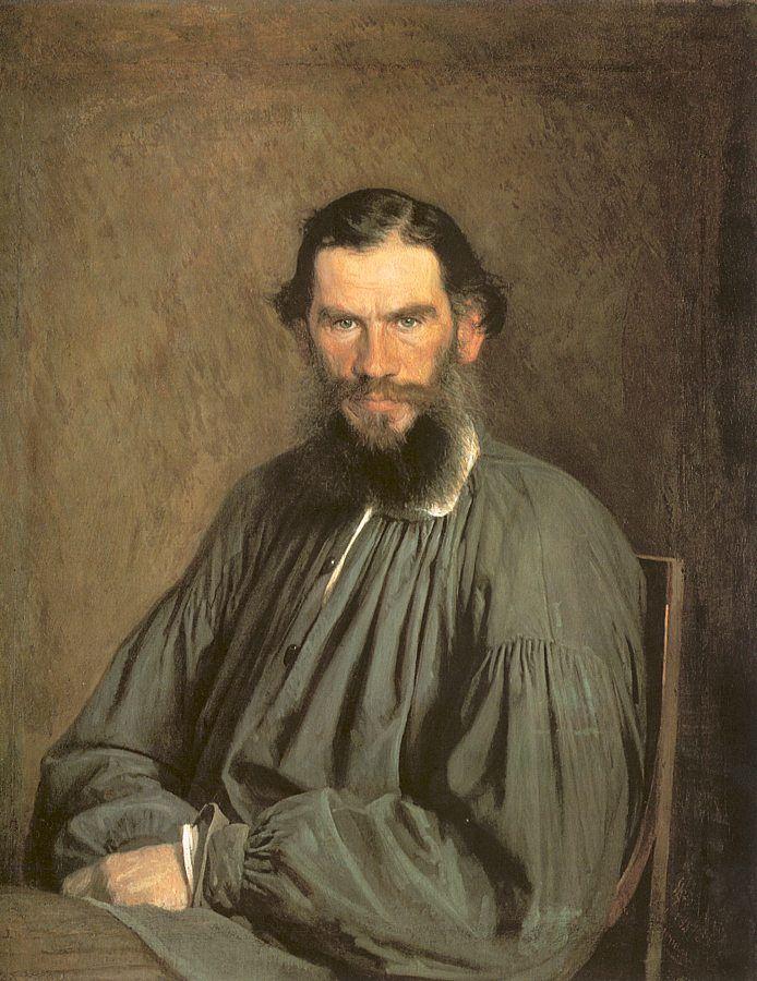 Leo Nikolayevitch Tolstoy.(1873)