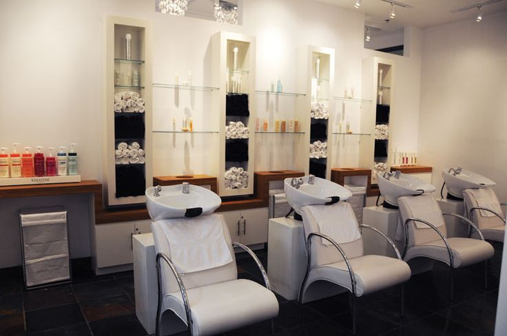 Woody Michleb Hair Salon, Toronto, ON Canada #interior #design #salon
