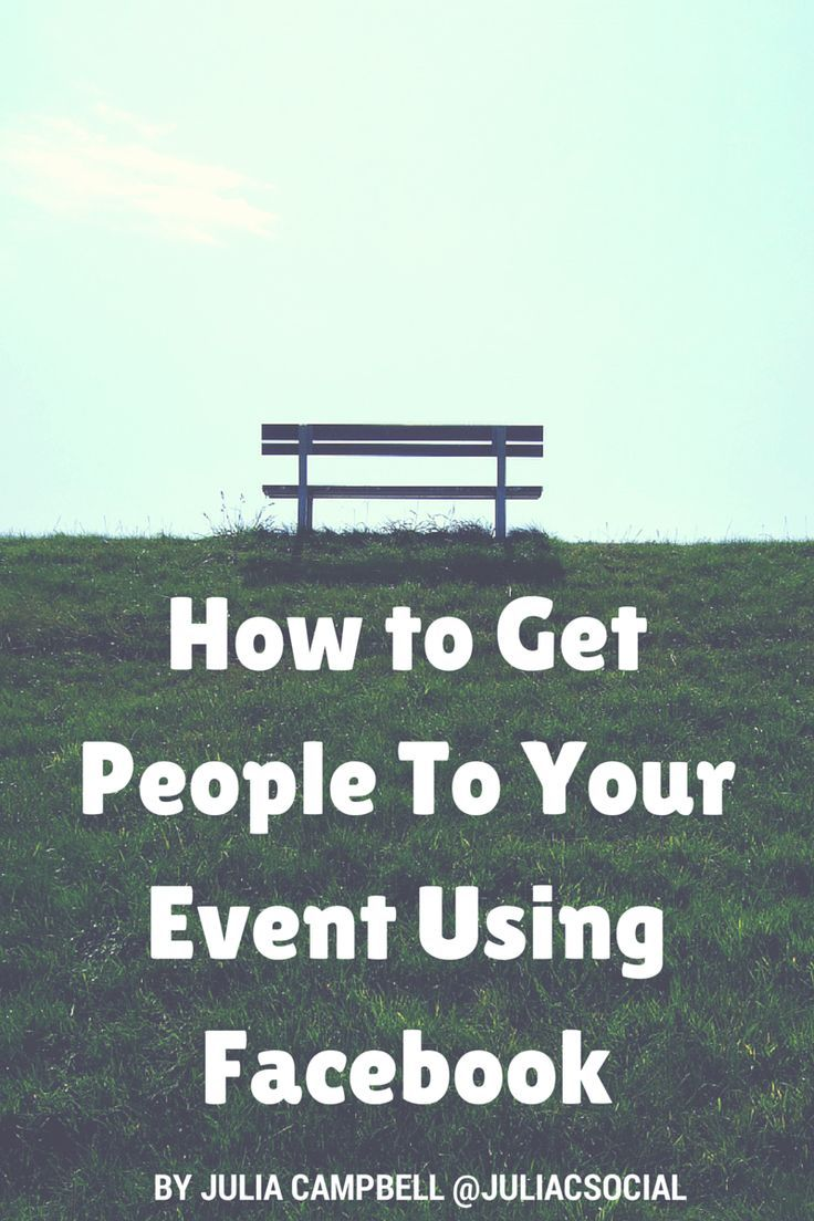 How To Get People To Your Nonprofit Event Using Facebook