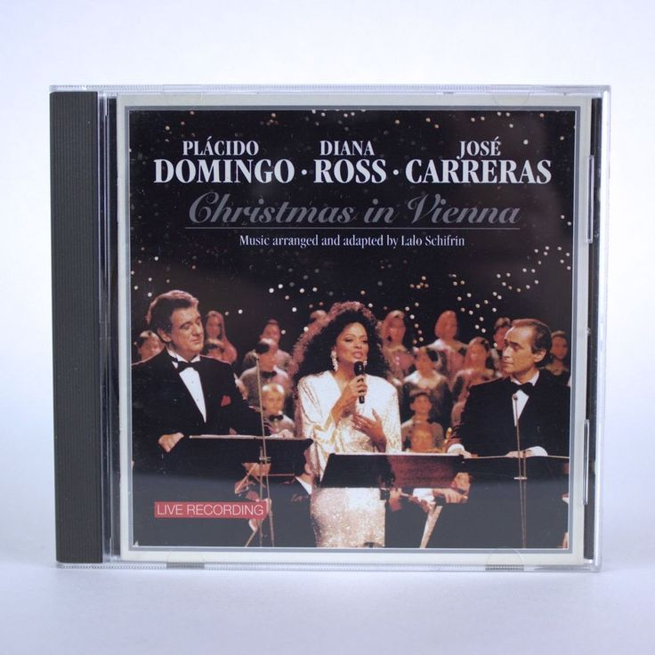 Christmas in Vienna with Jose Carreras, Diana Ross, Placido Domingo - Music CD #Motown