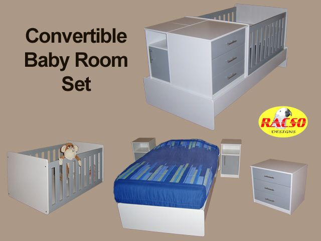 Cot/ The New Convertible Baby Room