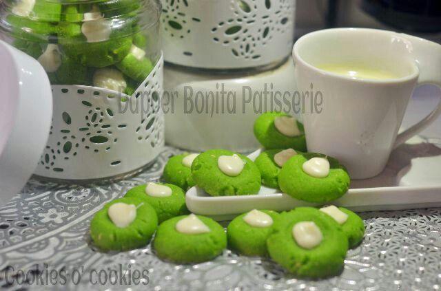 Greentea Cookies By. Dapoer Bonita Patisserie @Jambi Indonesia