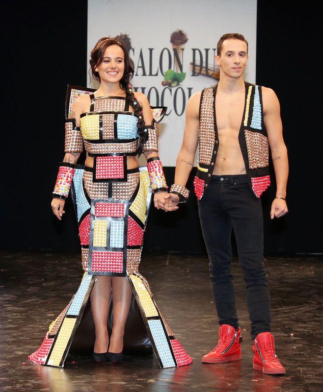 Alizée et son compagnon Grégoire Lyonnet