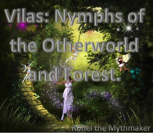 Vilas are the Nymphs of the Otherworld and Forest. #folklore