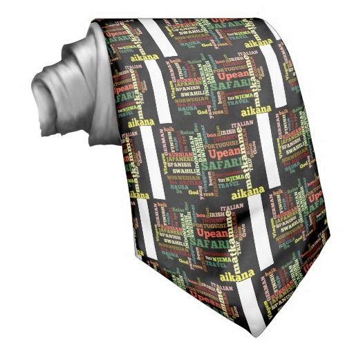 Bon-italienische irische #Safari Hapanese Reise Bedruckte Krawatte #Achempong #KRAWATTE  #Individual #Hakuna #Matata #hakunamatata #apparel #Clothing's #Children #Clothes #boys and #girls #cloth #Women's #Clothing  #Kleidung  #ties and #neckties