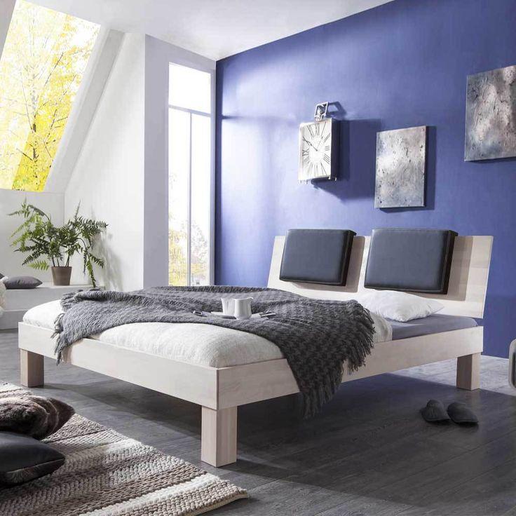 Die besten 25+ Massivholzbett Ideen auf Pinterest - schlafzimmer massiv komplett