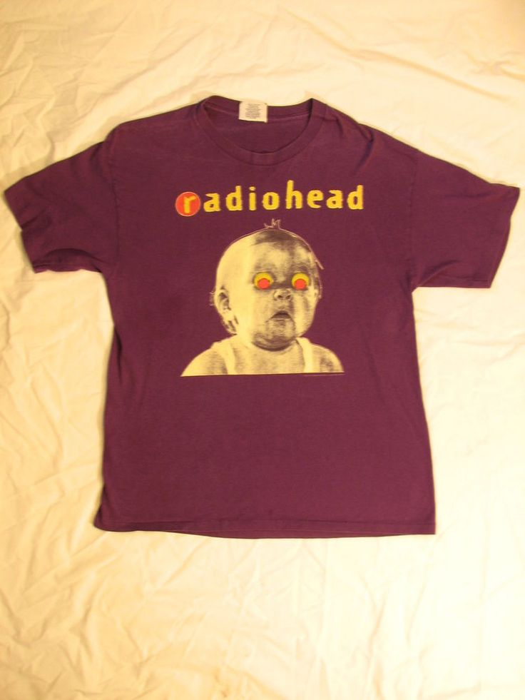 Vintage Radiohead Shirt / Alternative Rock / Band T Shirt / Rock / Band Tee / Tour / Concert 93NrubYdYw