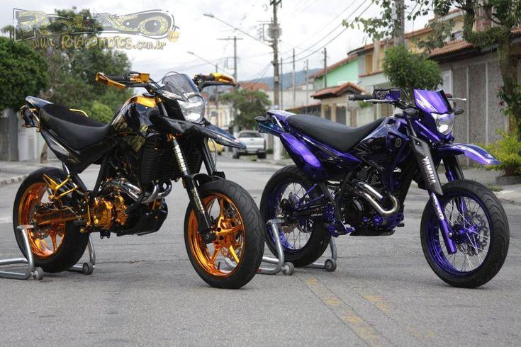 Yamaha XT660R Supermotord