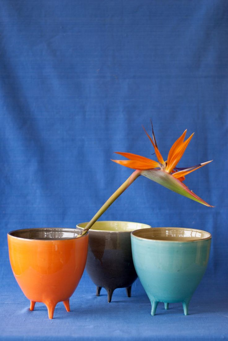 POTLEGS by CaCo handmade in Portugal, Galerias Lumiere, Rua José Falcão, Porto Portugal, Shop online www.cacostore.com #pottery #handmade #blue #Orange #gray