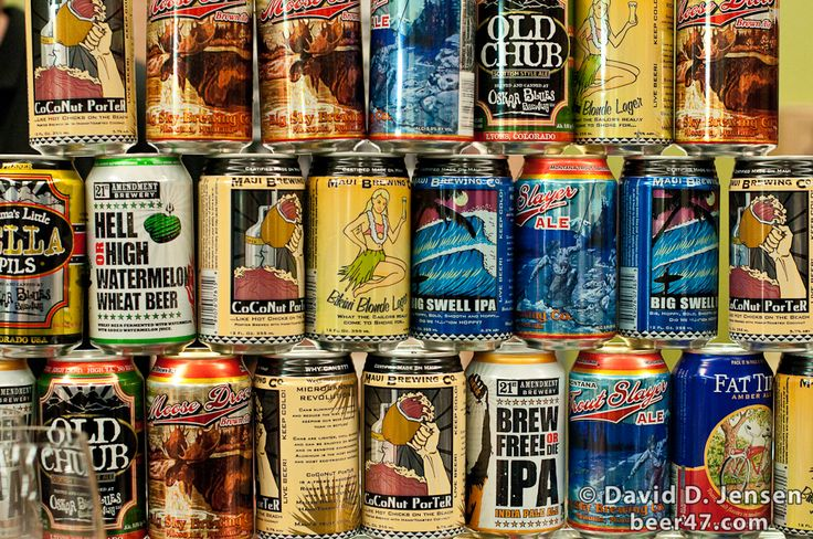 craft beer in cans | Chris Hall | Beer Writer