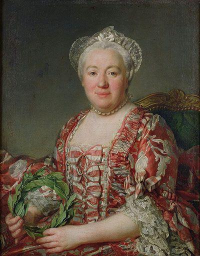 Portrait de Mme Denis, before 1775 by Joseph Siffred Duplessis (French 1725 – 1802) Musée Condé: