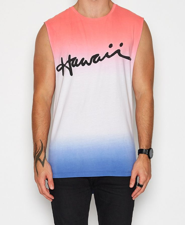Kiss Chacey - Hawaii Muscle Tee | Multi
