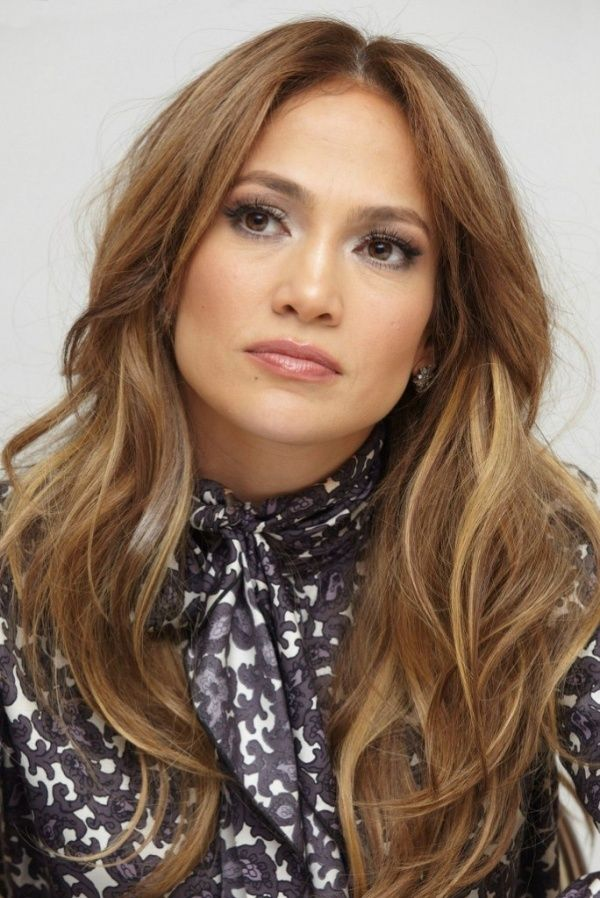 Jennifer Lopez - light brown with soft highlights