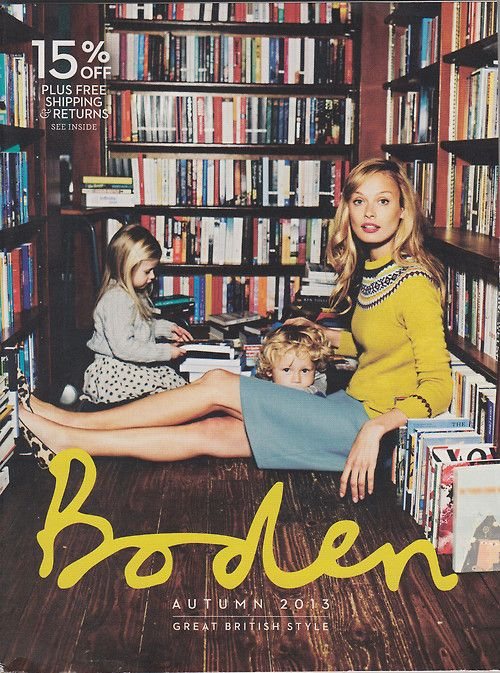 Boden autumn 2013 catalog cover pop librarians pinterest for Boden katalog