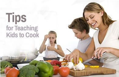 Tips, Tricks and Treats to Teach Kids to Cook | SparkPeople