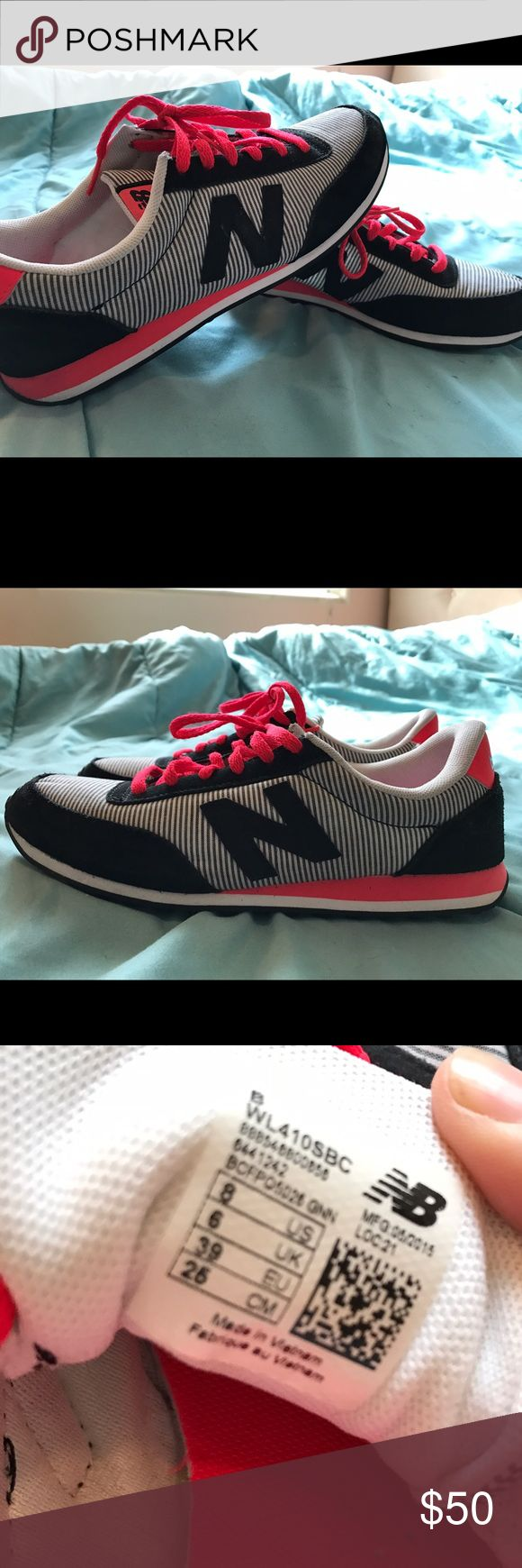 Women's New Balance size 8 Cute pink/white/black new balance shoes size 8 only worn a handful of times New Balance Shoes Athletic Shoes