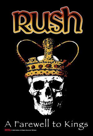 rush concert posters | rush poster flag farewell to kings logo brand new licensed rush poster ...