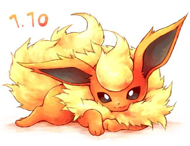 pokemon flareon art | ... : Anime, Kurone Kotarou, Nintendo, GAME FREAK, Pokémon, Flareon, :3