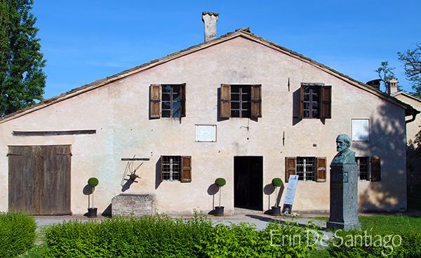 """"""" Photo of the Day: Giuseppe Verdi Birth Home in Le Roncole, or Roncole Verdi, Italy """" by @poohstraveler"""