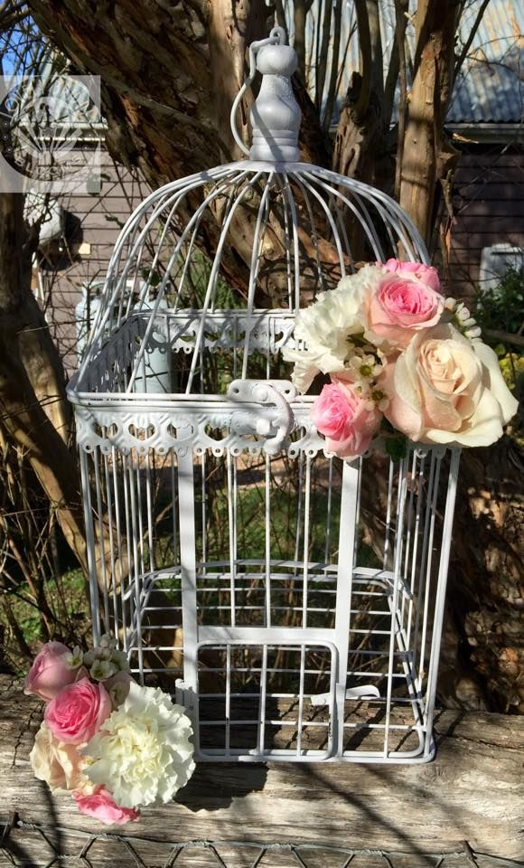 birdcage wishing well