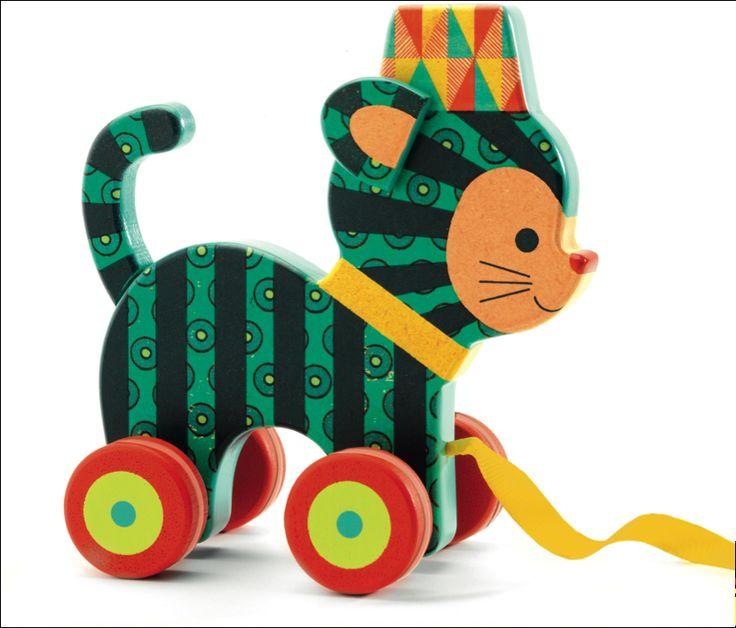 Inou the little cat by #Djeco from www.kidsdinge.com https://www.facebook.com/pages/kidsdingecom-Origineel-speelgoed-hebbedingen-voor-hippe-kids/160122710686387?sk=wall