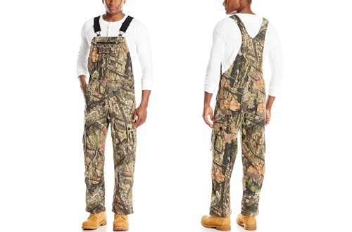 walls men s hunting non insulated bib overall x large on wall insulated coveralls for men id=91180