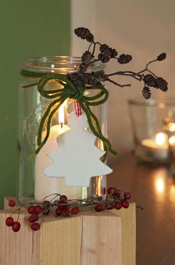 Weihnachtliche Deko Ideen Mit Zapfen