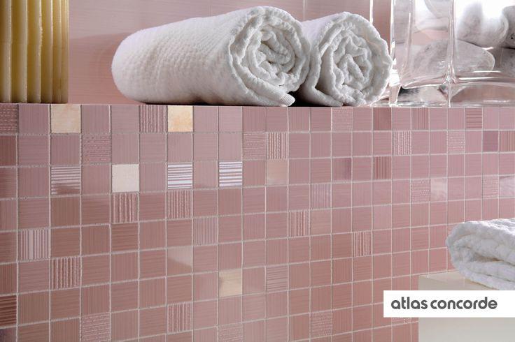 #ADORE rose | #Mosaic | #AtlasConcorde | #Tiles | #Ceramic