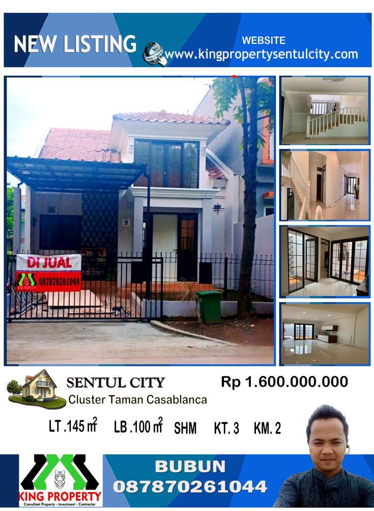 Rp 1.6 Milyar Dijual Rumah Baru di depan green area di ...