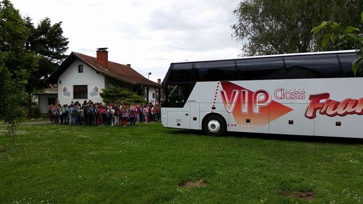 Tourists in visit of Generalić Gallery