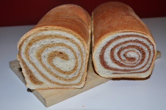 #Pan brioche variegato all #orzo e #cacao, #ricette e #corsi di cucina