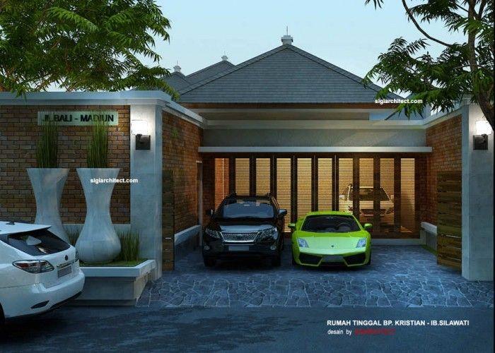 Desain Rumah Joglo Villa Tropis Desain Rumah Villa Arsitek