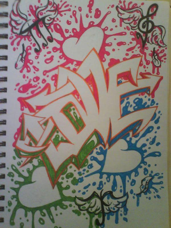 Sketch Graffiti Letters Hawaii Dermatology Graffiti Art
