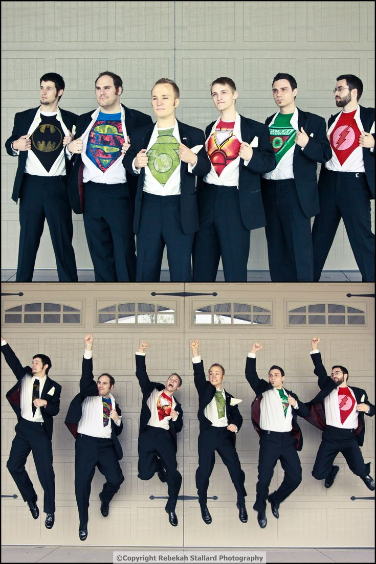 This I just awesome! I'd want my husband-to-be, to be dressed as his favorite hero.