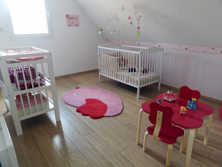 Chambre enfant à l'étage - maison témoin Maisons d'en France à Vermelles