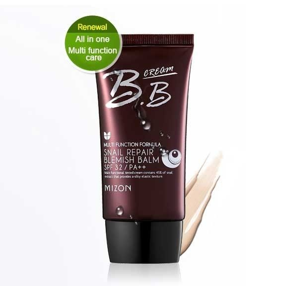 Korean Cosmetic * MIZON Snail Repair Blemish Balm SPF 32/PA++ BB Cream 50ml #MIZON