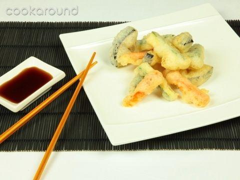 Dal Giappone, la tempura di verdure .. una ricetta semplice che garantisce un piatto croccantissimo !! :)