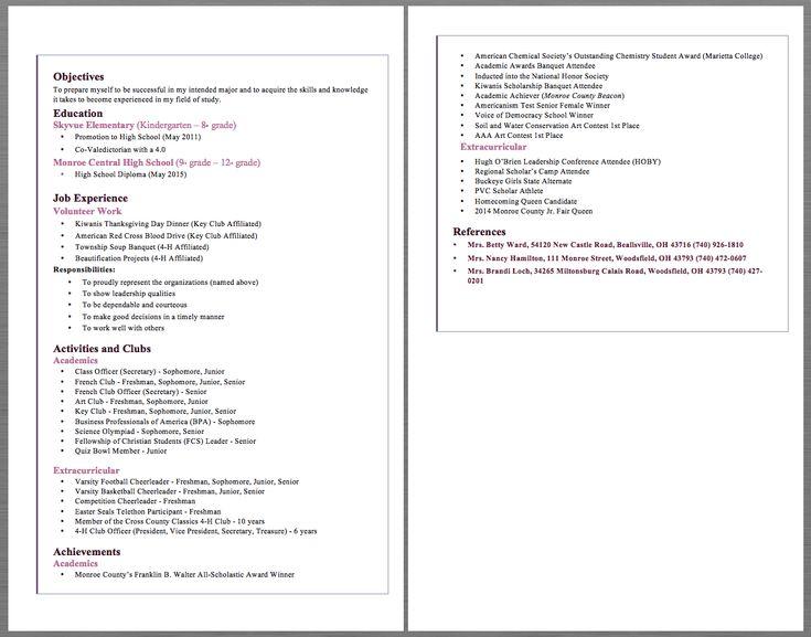Elementary school teacher resume example objectives to