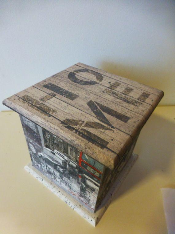 Box - Home London Decoupage